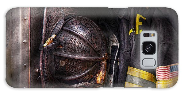 Fireman - Worn And Used Galaxy Case