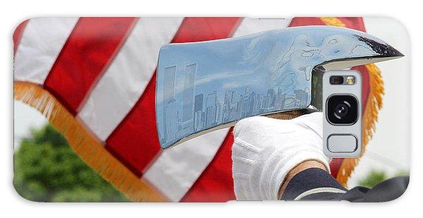 Firemans Ax - Nyc Skyline Photoshopped - New York Galaxy Case