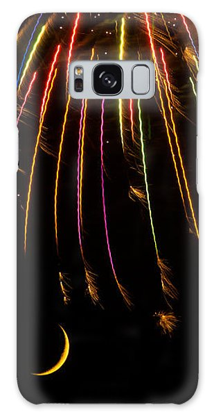 Firework Indian Headdress Galaxy Case by Darryl Dalton