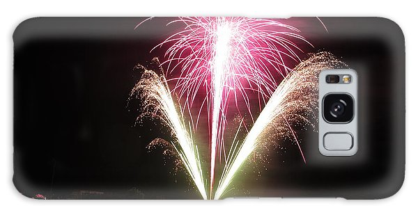 Fireworks At Cooks Galaxy Case