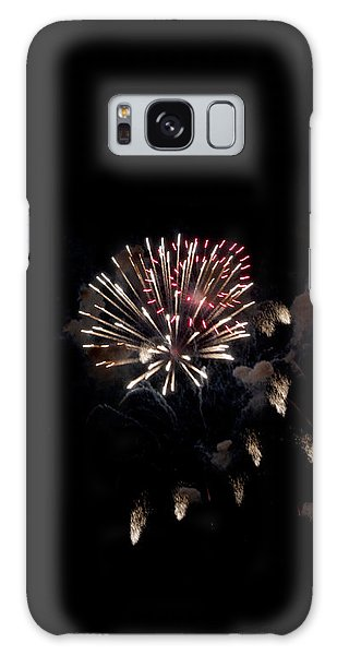 Fireworks At Night Galaxy Case