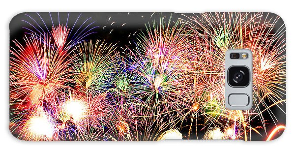 Fireworks Finale Galaxy Case