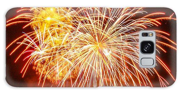 Fireworks Flower Galaxy Case by Robert Hebert
