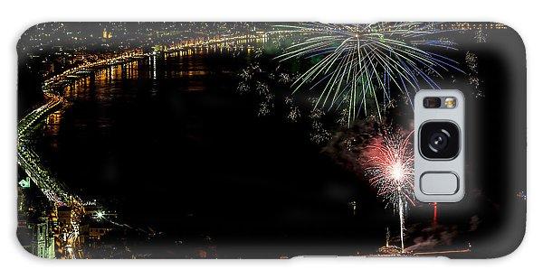 Galaxy Case featuring the photograph Fireworks Laigueglia 2013 3182 - Ph Enrico Pelos by Enrico Pelos