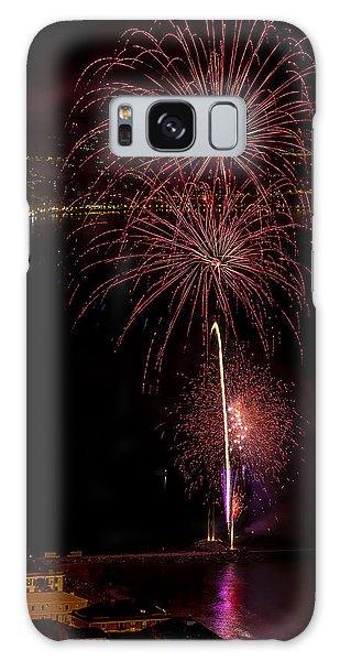 Galaxy Case featuring the photograph Fireworks Laigueglia 2013 3194 - Ph Enrico Pelos by Enrico Pelos