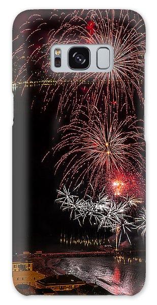 Galaxy Case featuring the photograph Fireworks Laigueglia 2013 3196 - Ph Enrico Pelos by Enrico Pelos