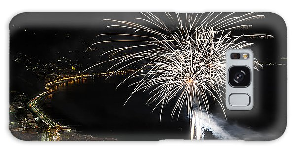 Galaxy Case featuring the photograph Fireworks Laigueglia 2013 3206 - Ph Enrico Pelos by Enrico Pelos
