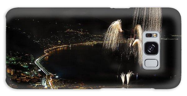Galaxy Case featuring the photograph Fireworks Laigueglia 2013 3213 - Ph Enrico Pelos by Enrico Pelos