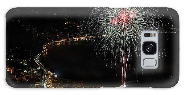 Galaxy Case featuring the photograph Fireworks Laigueglia 2013 3217 - Ph Enrico Pelos by Enrico Pelos