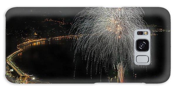 Galaxy Case featuring the photograph Fireworks Laigueglia 2013 3221 - Ph Enrico Pelos by Enrico Pelos