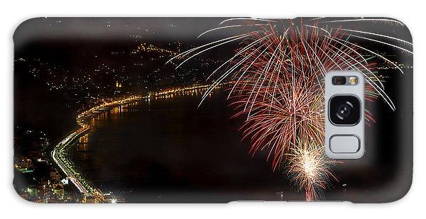 Galaxy Case featuring the photograph Fireworks Laigueglia 2013 3239 - Ph Enrico Pelos by Enrico Pelos