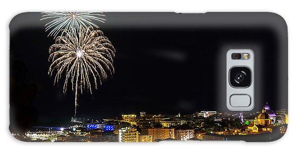 Galaxy Case featuring the photograph Fireworks Loano 2013 3335 - Ph Enrico Pelos by Enrico Pelos