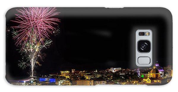 Galaxy Case featuring the photograph Fireworks Loano 2013 3353 - Ph Enrico Pelos by Enrico Pelos