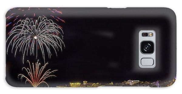 Galaxy Case featuring the photograph Fireworks Loano 2013 3374 - Ph Enrico Pelos by Enrico Pelos