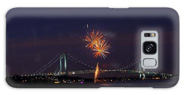 Fireworks On Staten Island South Beach Galaxy Case