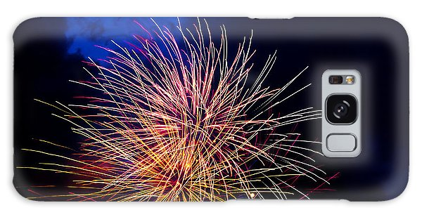 Galaxy Case - Fireworks On The Fourth by Frank Savarese