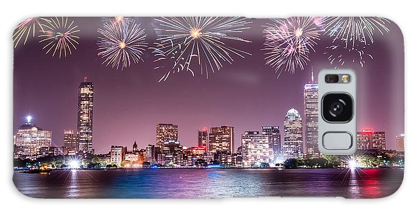 Fireworks Over Boston Galaxy Case