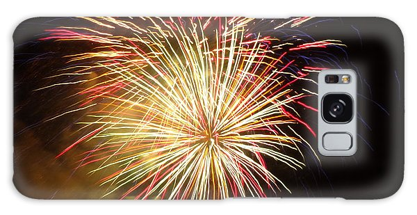 Fireworks Over Chesterbrook Galaxy Case by Michael Porchik