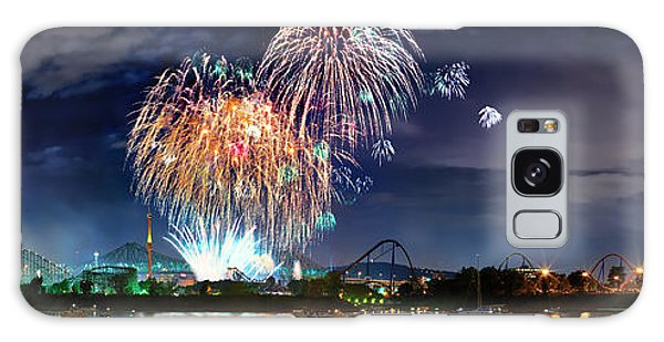 Fireworks Over Montreal Galaxy Case