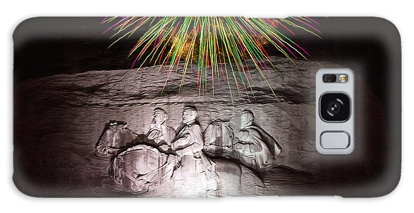 Fireworks Over Stone Mountain Galaxy Case