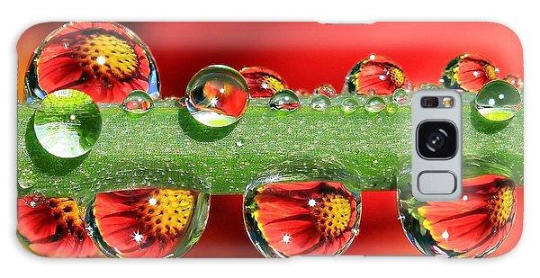 Floral Galaxy Case - Firey Drops by Gary Yost