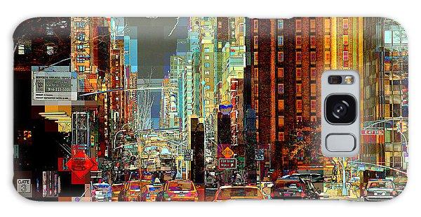First Avenue - New York Ny Galaxy Case