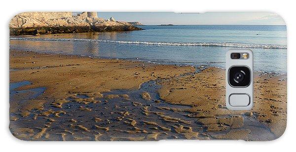 First Beach Sunrise In Rockport Galaxy Case