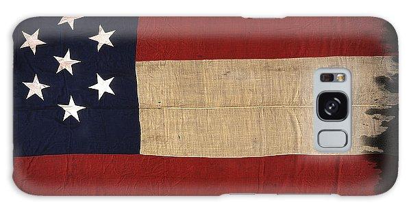 First Confederate Flag Galaxy Case by Daniel Hagerman