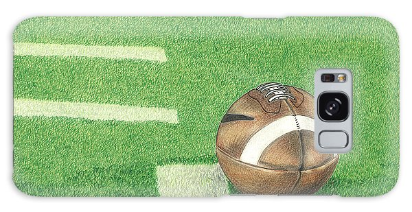 First Down Galaxy Case by Troy Levesque