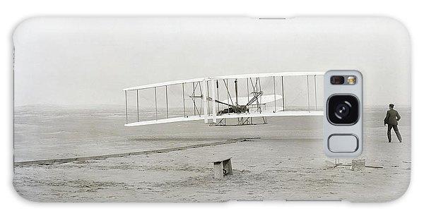 Pilot Galaxy Case - First Flight Captured On Glass Negative - 1903 by Daniel Hagerman