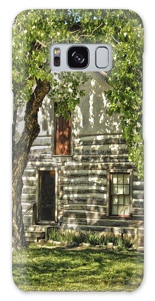 First House In Wichita Galaxy Case
