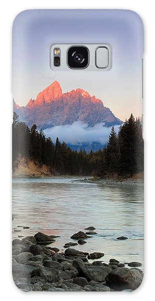 First Light On The Grand Teton Galaxy Case