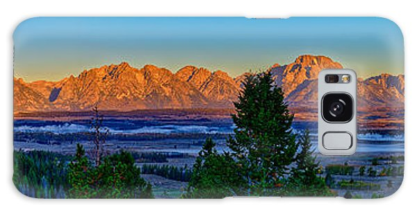 First Light On The Tetons Galaxy Case