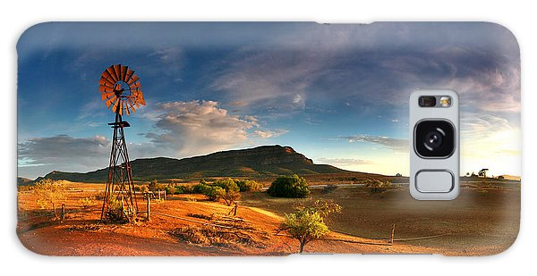 First Light On Wilpena Pound Galaxy Case