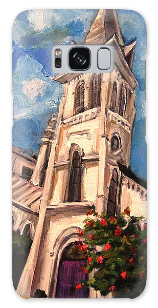 First Methodist Huntsville 2 Galaxy Case by Carole Foret