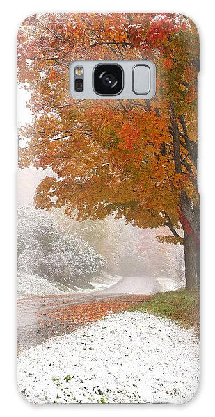 First Snow Galaxy Case by Butch Lombardi
