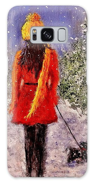 First Snow.. Galaxy Case by Cristina Mihailescu