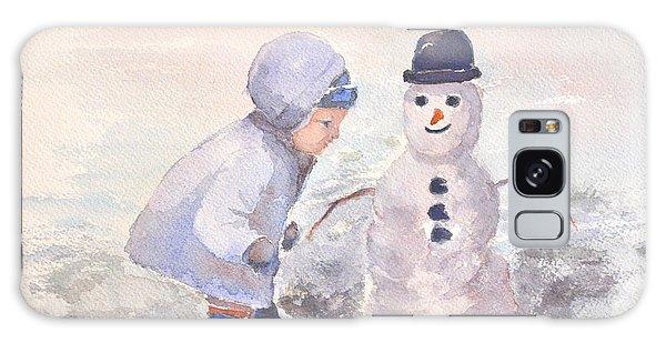 First Snowman Galaxy Case