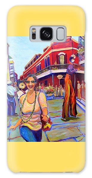 First Trip To New Orleans Galaxy Case by Jeanette Jarmon