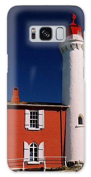Fisgard Lighthouse Galaxy Case by Michele Wright