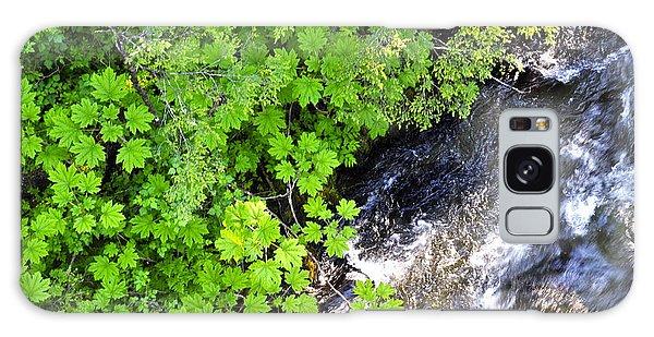 Fish Creek In Summer Galaxy Case by Cathy Mahnke