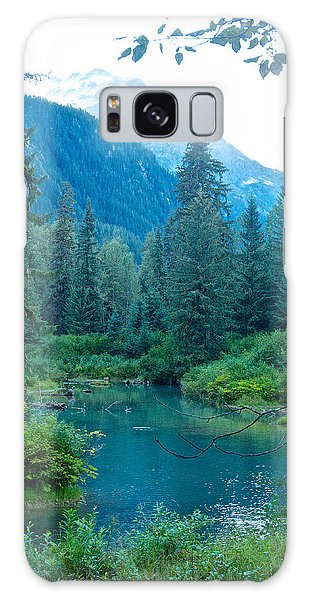Fish Creek In Tongass National Forest By Hyder-ak  Galaxy Case