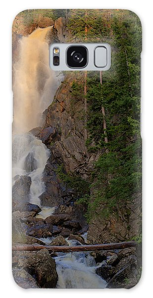 Fish Creek Waterfall Galaxy Case