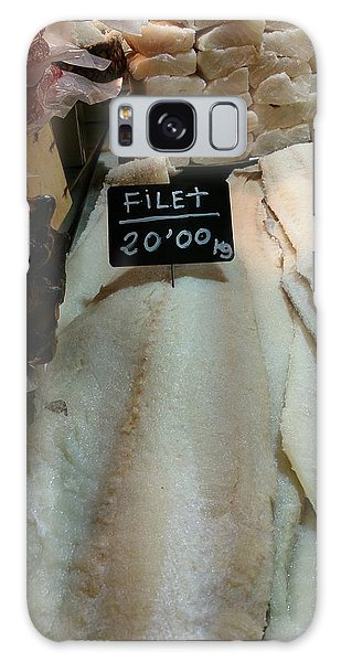 Fish Filets Galaxy Case