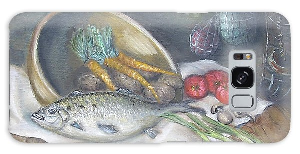 Fish For Dinner Galaxy Case