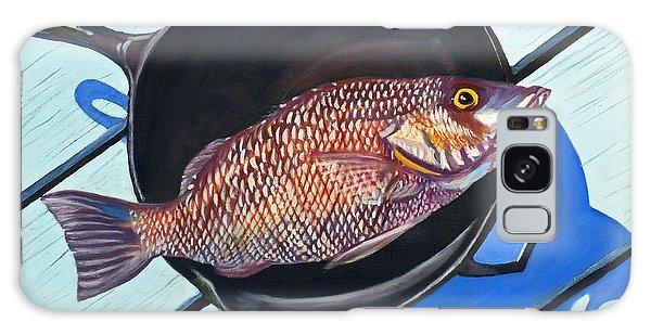 Mangrove Snapper Galaxy Case - Fish Fry by Susan Duda