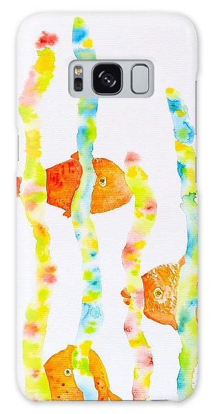Fish Fun Galaxy Case by Michele Myers