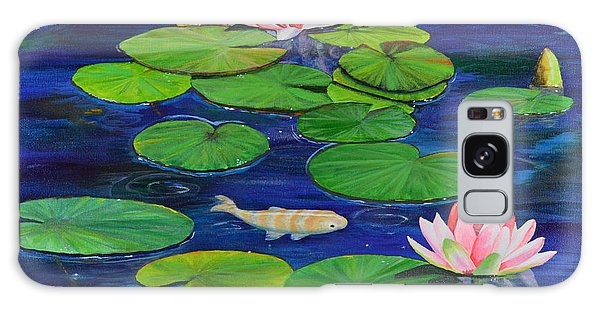 Tranquil Pond Galaxy Case