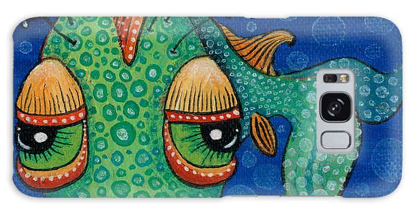 Fish Lips Galaxy Case by Tanielle Childers