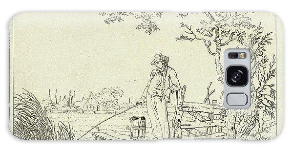 Pasture Galaxy Case - Fisher On Deck, Hermanus Fock by Hermanus Fock